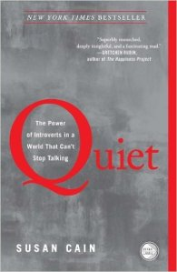 The cover of the book Quiet: The Power of Introverts in a World That Can't Stop Talking by Susan Cain